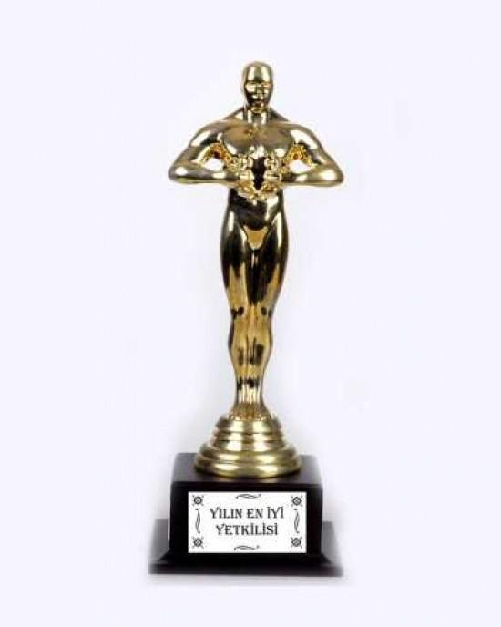 Ahşap Ayaklı Oscar (Altın Sarısı)
