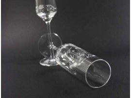 Düğün Bardağına Bombeli Lazer Kazıma