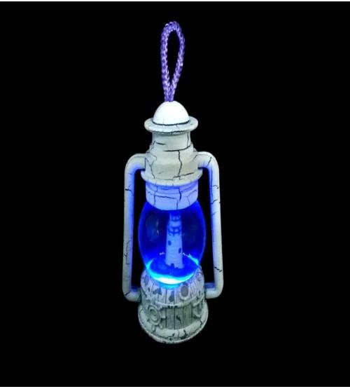 Gaz Lambası Tasarımlı Işıklı Su Küresi ve Biblo