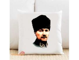 Atatürk Kişiye Özel Yastık Kılıfı TK35