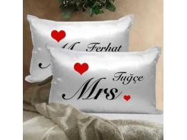 Kişiye Özel Romantik Yastık