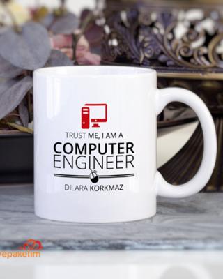 Kişiye Özel Bilgisayar Öğretmeni Kupa Bardak