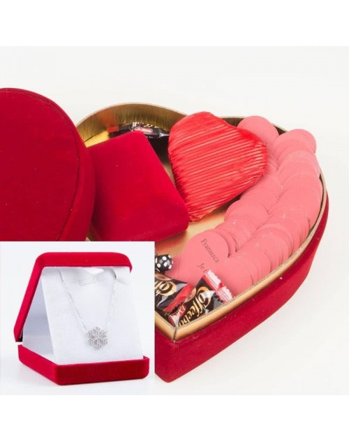 Seni Seviyorum Mesajlı Hediye Paketi