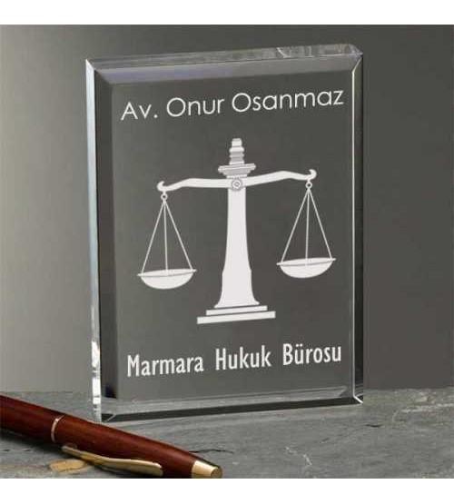 Avukatlara Özel Hediyelik Ödül