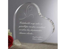 Annelere Ve Babaya Özel Kalp Ödülü