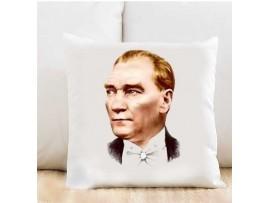 Atatürk Kişiye Özel Yastık Kılıfı TK223